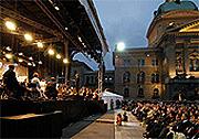 Berner Symphonie Orchester Bundesplatz Bern