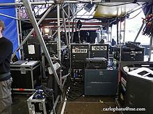 "04 ""Backstage-Impressionen"" Gurtenfestival 2009"