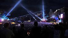 06 Linkin Park Produktion im Ferropolis