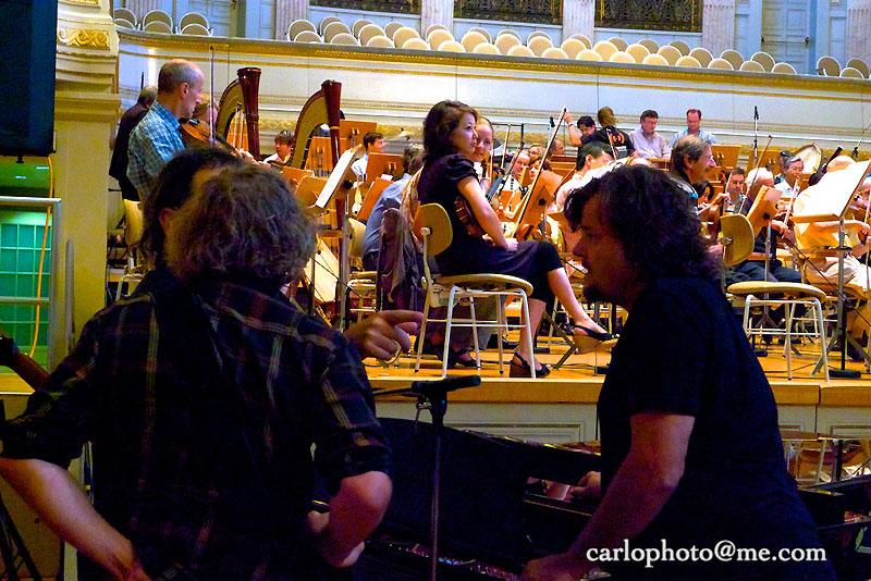 01 Berner Symphonie Orchester mit Patent Ochsner (Proben Casino)
