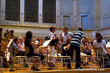 02 Berner Symphonie Orchester mit Patent Ochsner (Proben Casino)