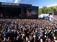 41 Gurtenfestival 2011 (sonniges Festivalende)