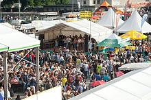 08 Trucker & Country Festival Interlaken (eine der 4 Aussenbühnen im Westerndorf)