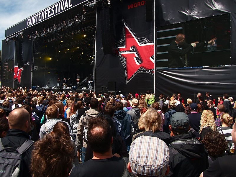 29 Gurtenfestival 2012 (Stress)