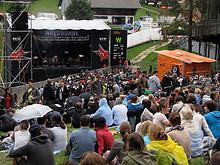 06 Gurtenfestival 2012 (Waldbühne - Pablopolar)
