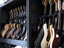 18 Gurtenfestival 2012 (Lenny Kravitz' Guitar-Cases)