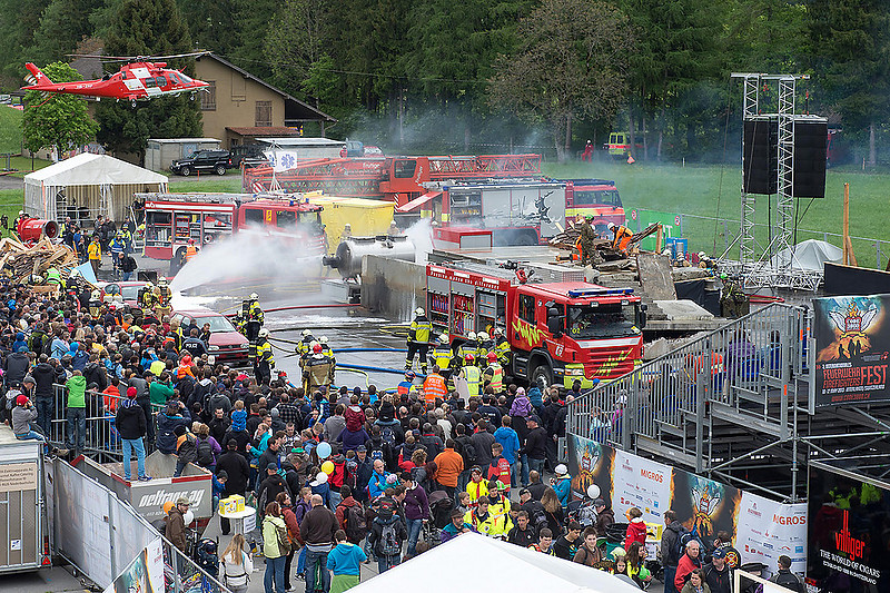 01 Internationales Feuerwehrfest Interlaken 2013