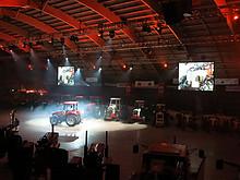 06 Red Power Tractor Show Düdingen 2013