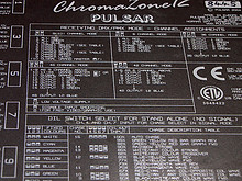 04 Chroma Pulsar Panels inkl. Steuerung und Verkabelung
