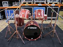 01 Sonor Hilite Drumset 5-teilig