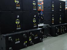03 Turbosound TMS 3 Set (Teilsystem auf Bild)